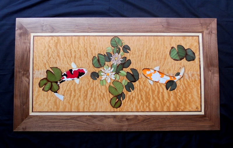 Fine marquetry